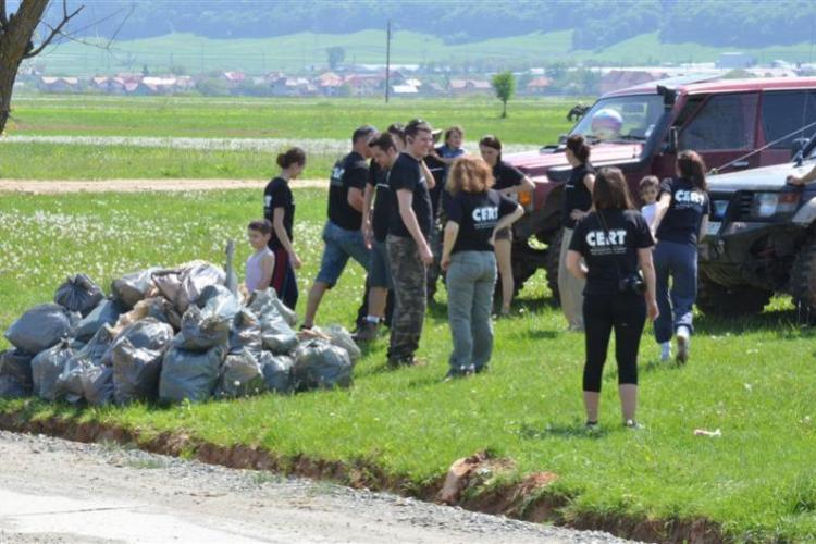 Asociația CERT - Transilvania organizează acțiune de ecologizare a Pădurii Făget