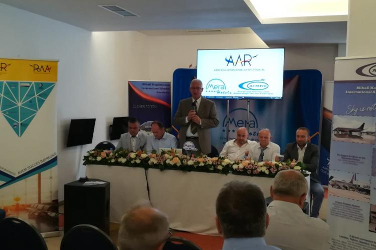 David Ciceo, la ședința Asociației Aeroporturilor din România: Traficul se va dubla în următorii 15 ani