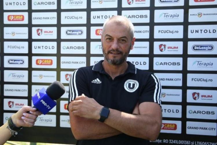 Cristi Dulca pleacă de la U Cluj