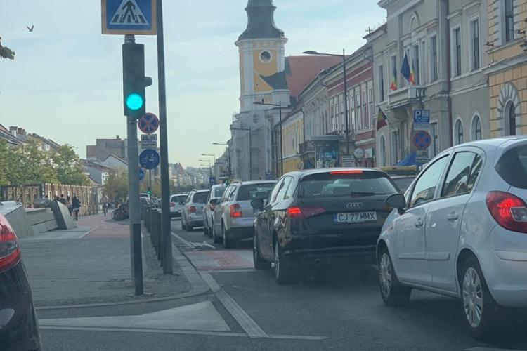 Cât de tare se mai poate aglomera Clujul? Cate masini au cumparat clujenii in ultimul an