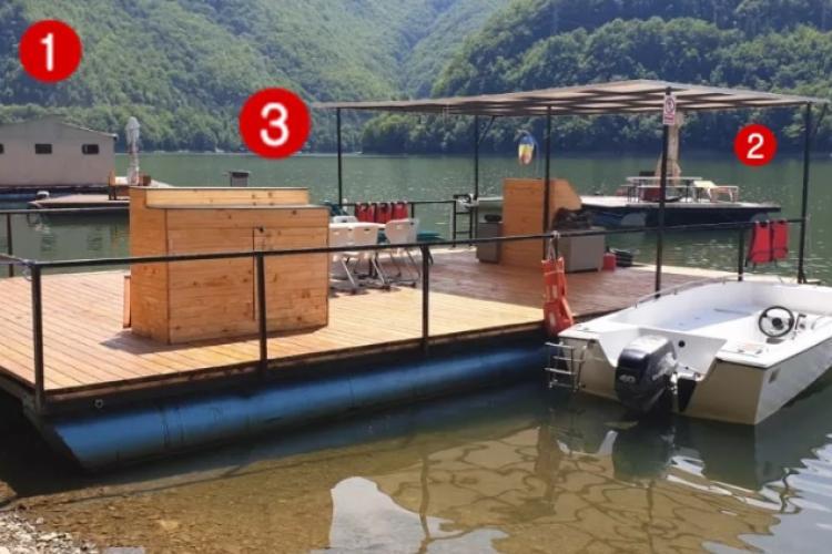Prefectul Clujului, Aurel Cherecheș: Niciunul dintre pontoanele de pe Tarnița nu are autorizație