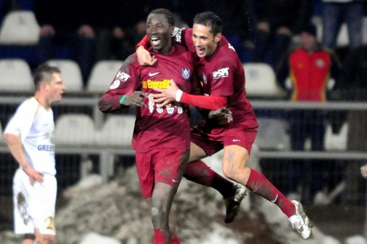 Traore s-a rugat de Petrescu să-l aducă la CFR Cluj