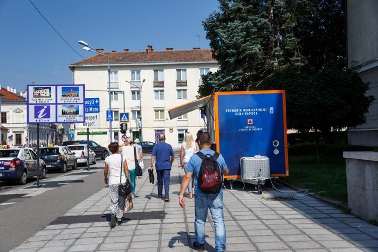 Măsuri împotriva caniculei la Cluj! Vezi unde sunt punctele de refugiu și unde se distribuie apă gratuit