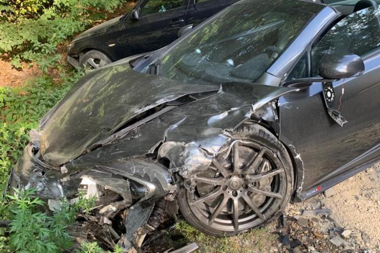 Cine este șoferul McLaren -ului care a produs accidentul din Făget - FOTO