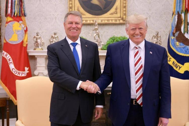 """Trump a anunțat că viitorul României este """"foarte, foarte strălucit"""