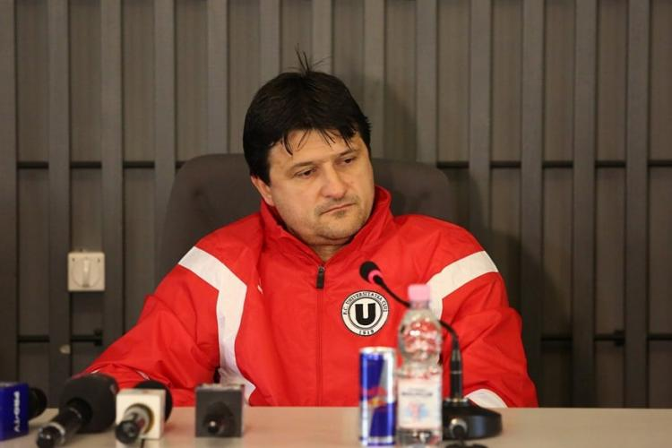 Adrian Falub, numit OFICIAL antrenor al U Cluj