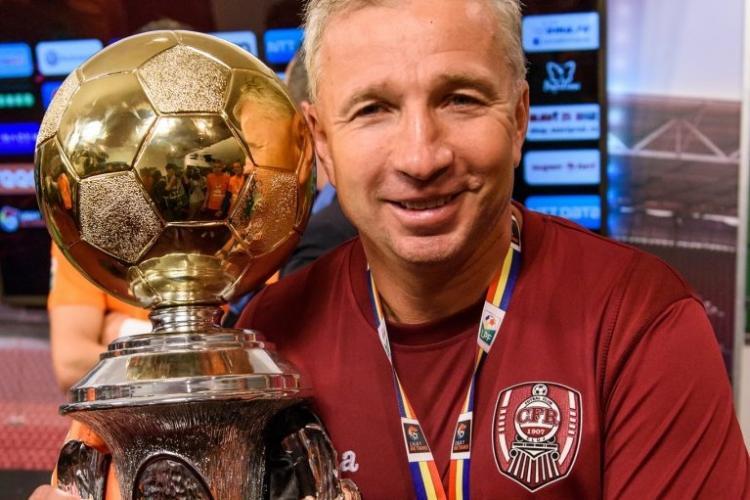 Ce a vorbit Dan Petrescu cu Gică Hagi, după calificarea CFR Cluj în play-off-ul Champions League