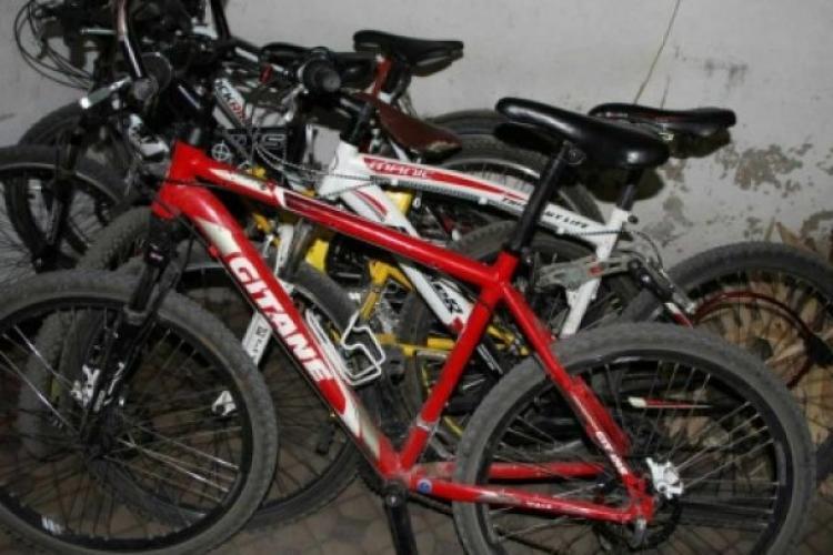 4 biciclete din sute furate, recuperate de polițiștii locali din Cluj-Napoca