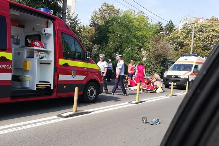 Pieton omorât pe Alexandru Vaida Voievod, în Gheorgheni, lângă Lidl - FOTO
