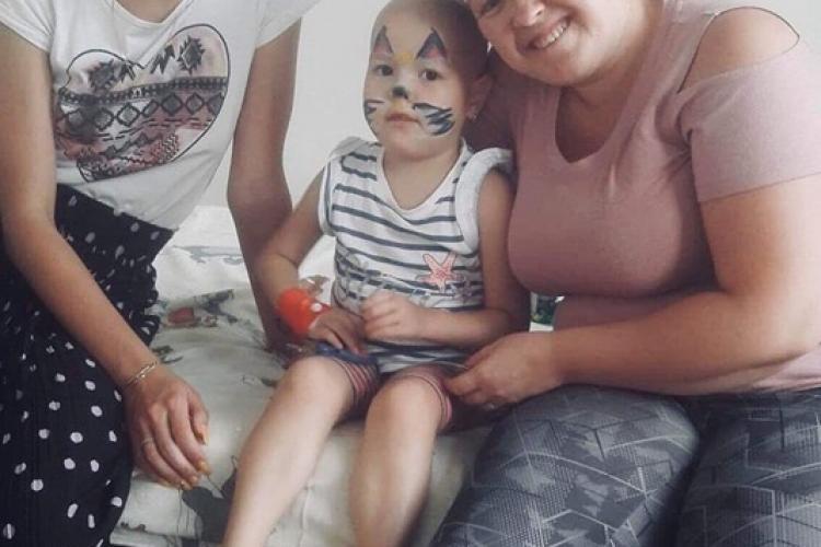 """Voluntarii """"Inimi Deschise"""" ajută copiii cu leucemie din Cluj. Fac rost de mâncare caldă și coafor pentru mămici - FOTO"""