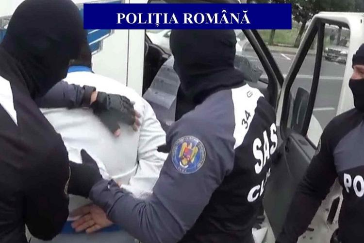 Trei tâlhari periculoși prinși de polițiștii de la Biroul Investigații Criminale Cluj-Napoca