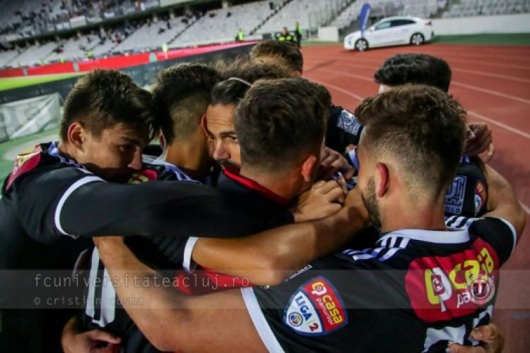 U Cluj - FCSB, în Cupa Romaniei. Cât costă biletele
