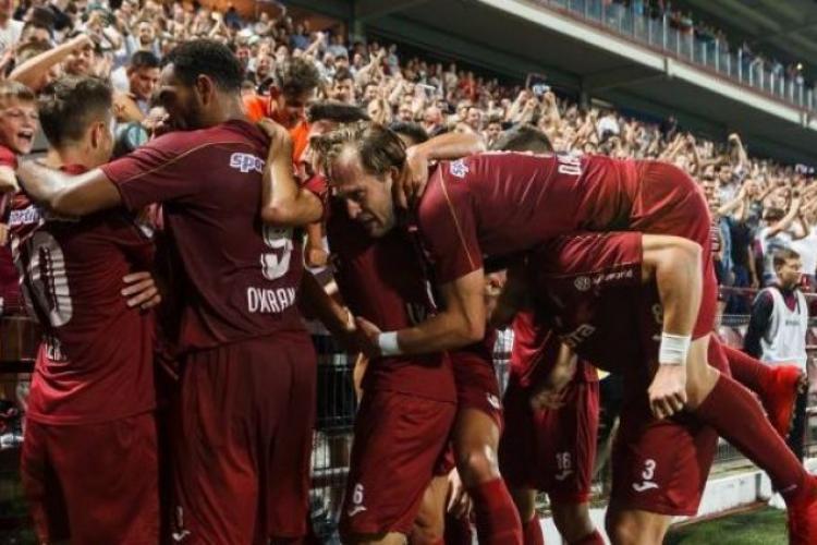 CFR Cluj - Lazio 2-1. Cât încasează clujenii pentru victorie