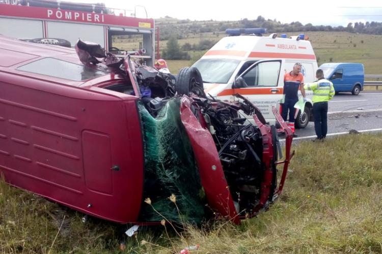Accident între Păniceni și Izvorul Crișului - FOTO