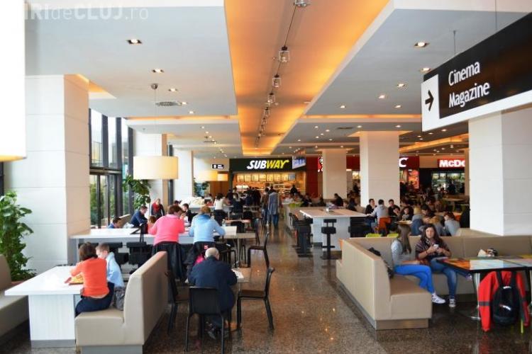Iulius Mall Cluj a închis PREVENTIV câteva restaurante, după GÂNDACII de la VIVO