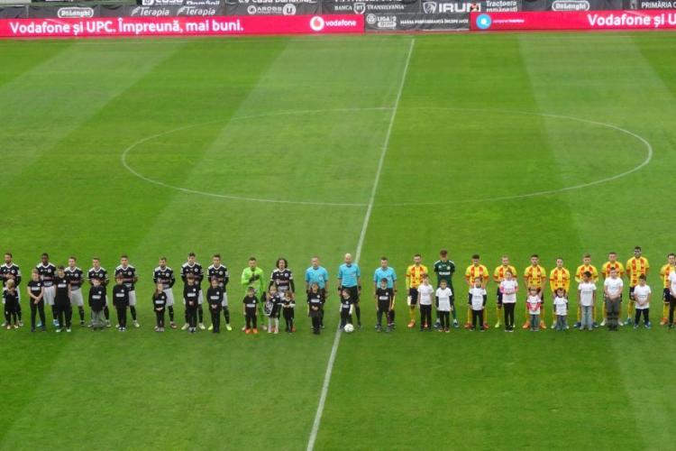 U Cluj a făcut 1-1 cu Ripensia. Parcă e blestem