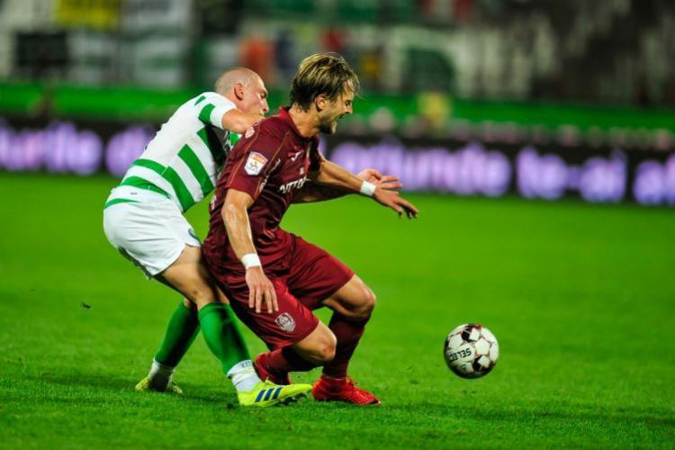 Celtic – CFR Cluj, la ora 22.00. Dan Petrescu revine pe bancă, după ce i s-a făcut rău