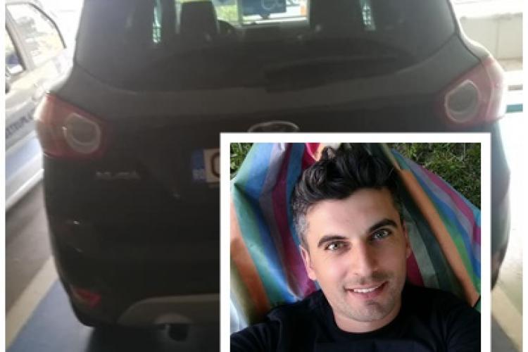 """Actorul Bob Rădulescu înjurat de un șofer """"sănătos și rumen"""", care a parcat pe locul persoanelor cu handicap"""