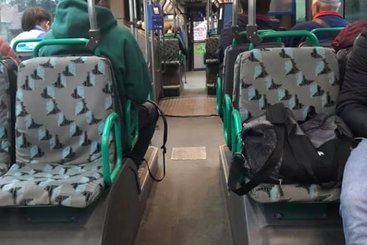 Autobuzul din Florești e GOL, iar șoferii stau în trafic - FOTO
