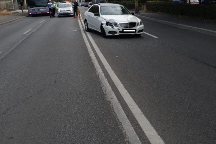 Accident cu două victime în Gheorgheni. Un tată și fiul său au fost răniți FOTO