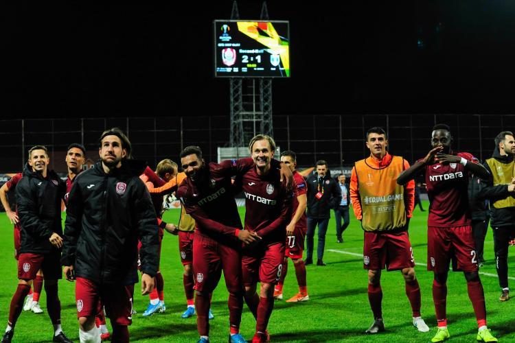 CFR Cluj nu a umplut arena la meciul cu Lazio. Prețul biletelor a fost prea mare