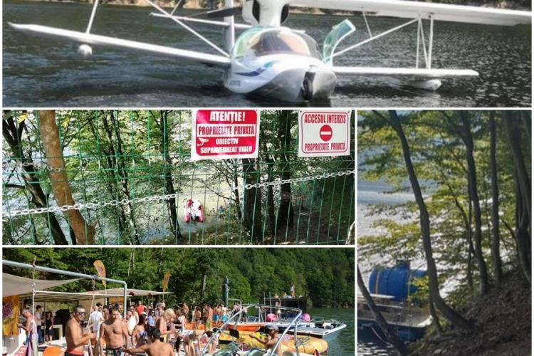 EXCLUSIV - Regulamentul de navigație pe Lacul Tarnița obținut de Știri de Cluj taie aripile șmecherilor cu bărci, pontoane și hidroavioane