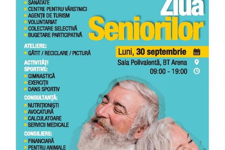 Ziua Seniorilor, la BTArena Cluj-Napoca! Vezi care este programul activităților