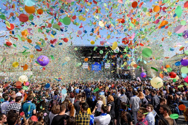 Zilele Clujului 2019: Peste 300.000 de participanți, clujeni și turiști în cele patru zile de distracție