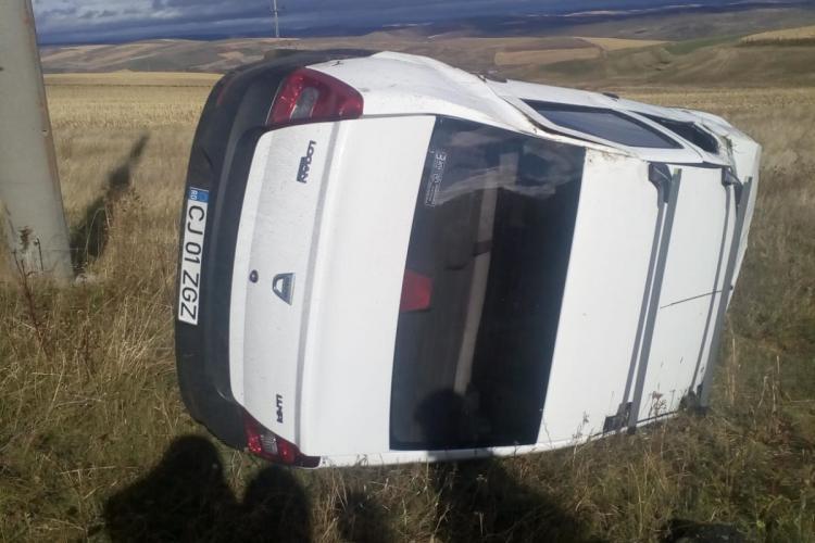 Accident rutier în Tureni - FOTO