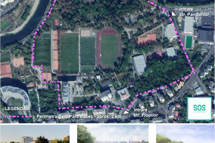 Deputatul ecologist Dohotaru vrea acces liber în Parcul Babeș, unde acum se intră cu taxă. Se va distruge zona?