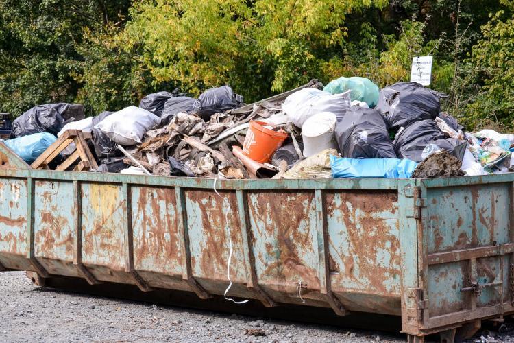 Acțiunea de ecologizare în Făget făcută de CERT Transilvania. S-au adunat 50 de tone de gunoaie