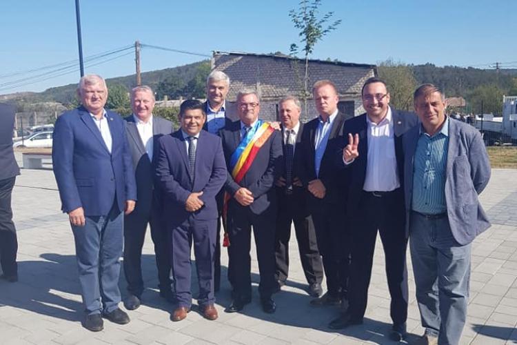 Liderii PSD Cluj au fost la Iclod la Sărbătoarea Toamnei - FOTO