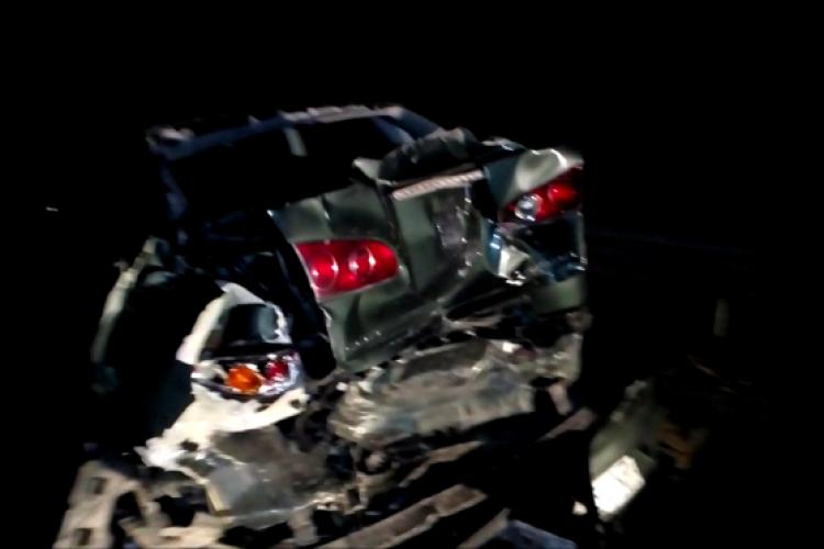Accident pe Autostrada Transilvania. Patru persoane au fost consultate - VIDEO