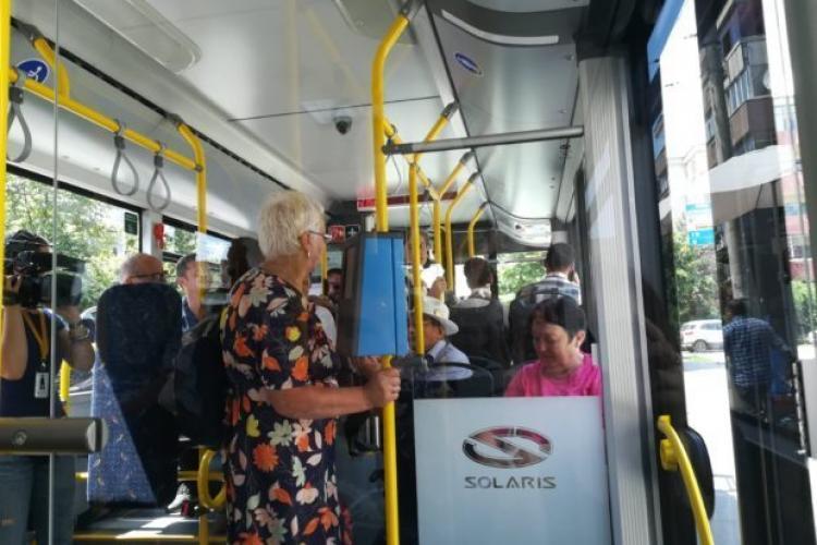 Cine îi va amenda pe cei care miros urât în autobuzele clujene