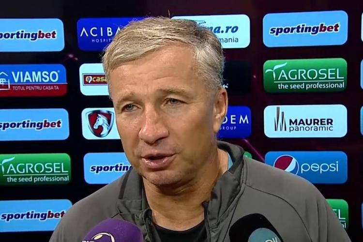 Ce a spus Dan Petrescu după CFR Cluj - Lazio 2-1