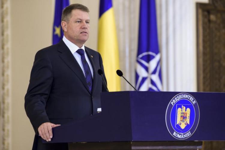 Klaus Iohannis și-a depus candidatura pentru prezidențiale: Fără mine, PSD ar fi distrus justiția
