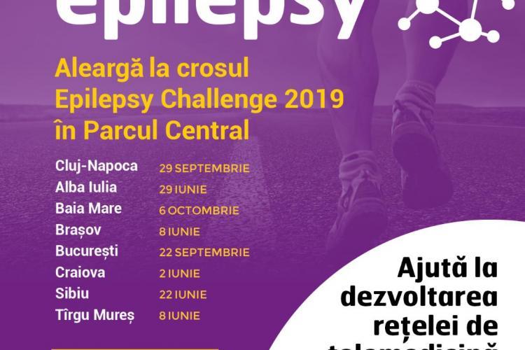 Crosul Epilepsy Challenge 2019 are loc în cadrul Zilelor Clujului
