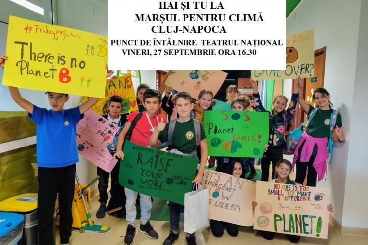 Marș pentru climă la Cluj - FOTO