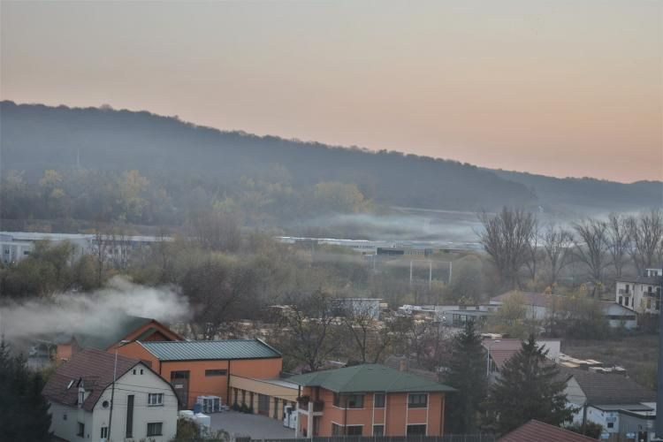 """""""Fenomen meteo"""" ciudat în cartierul Dâmbul Rotund, din Cluj-Napoca - FOTO"""