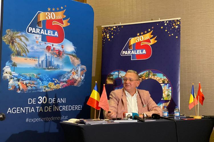 Paralela 45, la 30 de ani de activitate: Agenția anunță o nouă destinație cu zbor direct din Cluj-Napoca