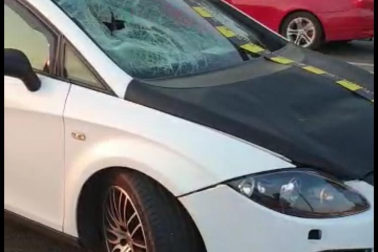 Copil de 13 ani accidentat grav lângă Aeroportul Cluj - VIDEO