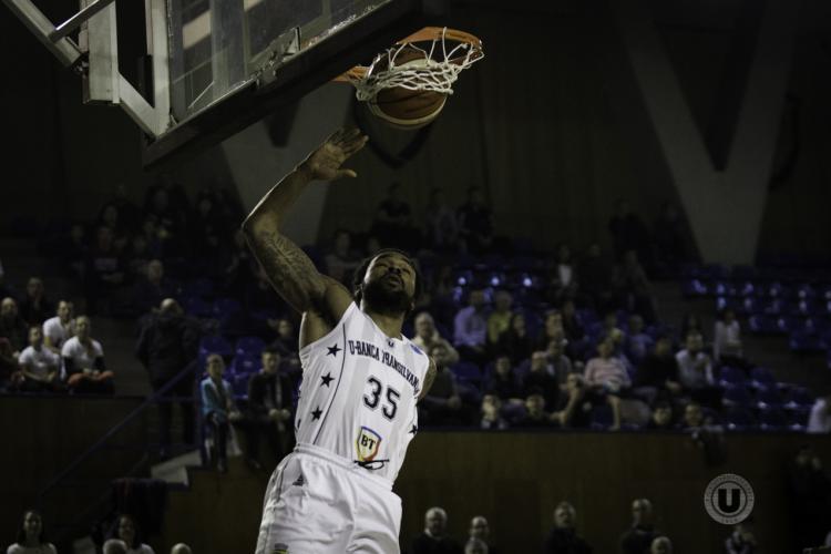 U-Banca Transilvania a câștigat categoric meciul cu BC Balkan Botevgrad, din FIBA Europe Cup