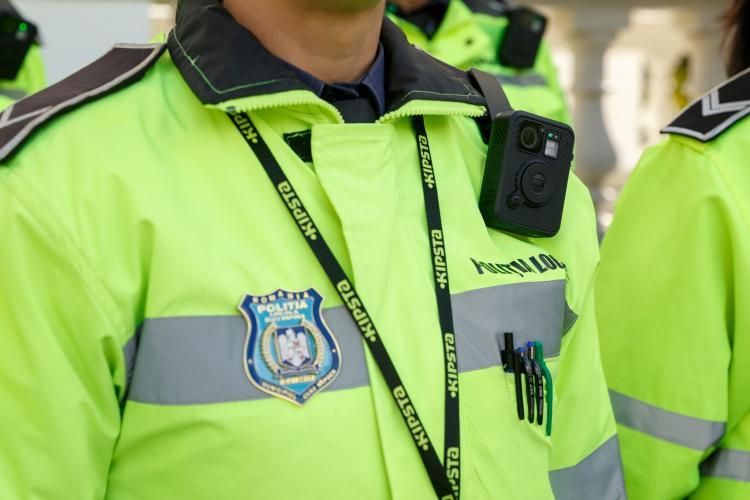 Polițiștii locali și cei de la IPJ Cluj vă vor filma când vă amendează fără consimțământul vostru - FOTO