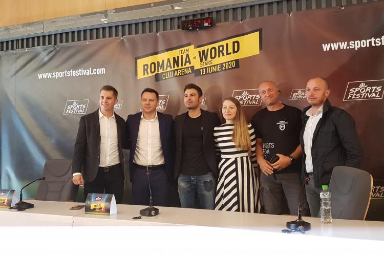 Adi Mutu va avea meciul de retragere la Sports Festival, alături de Rădoi, Pirlo și Totti