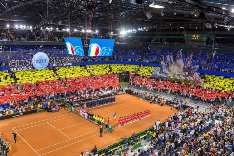 Halep și România va juca cu Rusia, la Cluj-Napoca, meciul din Fed Cup by BNP Paribas