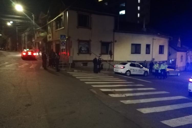 Razie de amploare la Cluj-Napoca. Oamenii legii au acționat pe timp de noapte FOTO
