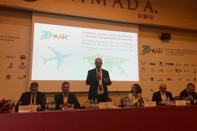 David Ciceo reales președinte al Asociației Aeroporturilor din România