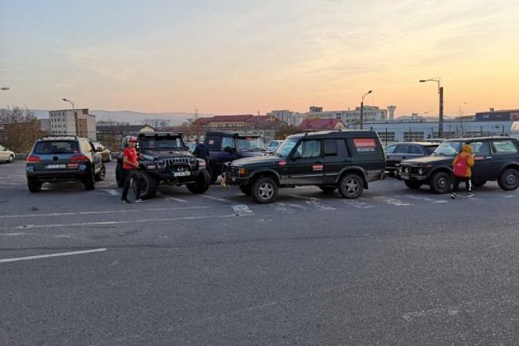 Membrii Rescue 4x4 Cluj au participat la operațiunea de căutare a fetei dispărute - FOTO