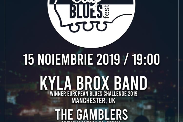 Cluj Blues Fest 2019 are loc la început de noiembrie