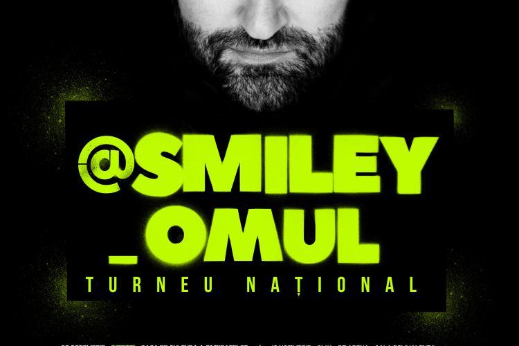 Smiley va susține un concert cât o viață de OM. Vezi când va cânta la Cluj